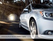 2015 Subaru Legacy Prelaunch HTML Dbrochure