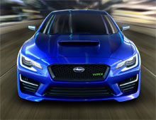 2014 Subaru WRXSTI Prelaunch HTML Dbrochure