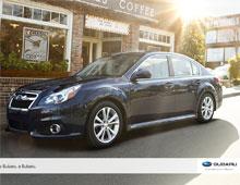 2014 Subaru Legacy iPad App