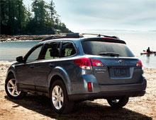 2014 Subaru Outback IPad App