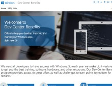 Microsoft Dev Center Benefits