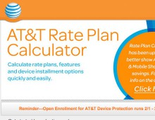 AT&T Rate Plan Calculator – Consumer